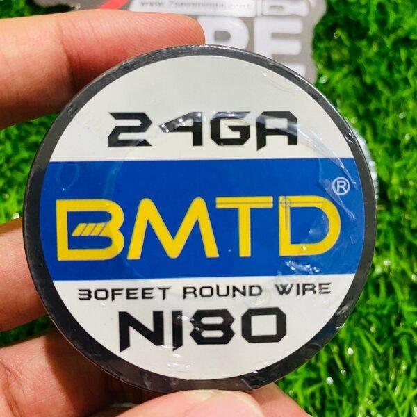 ลวดม้วน BMTD Ni80 30Feet Round Wire 20,22,24,26,28,30,GA