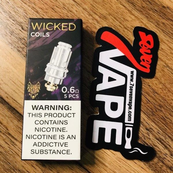 SnowWolf Wicked Replacement Coils | คอยล์ Wocket & Afeng