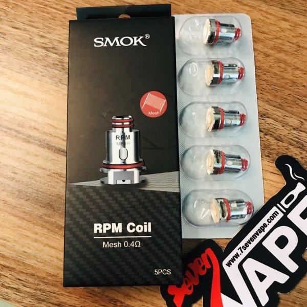 คอยล์ SMOK RPM Replacement Coils | RPM40 | RPM80 | RPM Lite | Fetch | Fetch PRO | X Pozz | Alike | Nord 2 | RPM 2 | RPM 2S