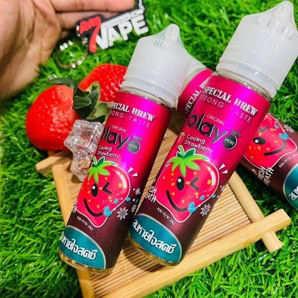 เพลย์สตอเบอรี่ | Play Cooling Strawberry 60ml
