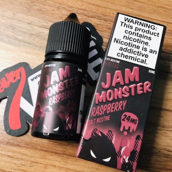 มอนสเตอร์ซอลนิคราสเบอรี่ | Jam Monster Salt Nic Raspberry 30ml