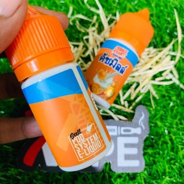 ดัชมิลล์ส้มซอลนิค | Orange Yogurt Dutch Mill Salt Nic 30ml