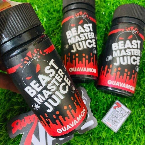 เบสมาสเตอกวามอน | Beast Master Juice Guavamon 100ml