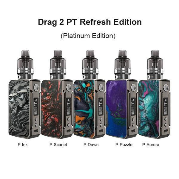 VOOPOO DRAG 2 PnP Platinum 177W Box Mod Refresh Edition With PnP Tank