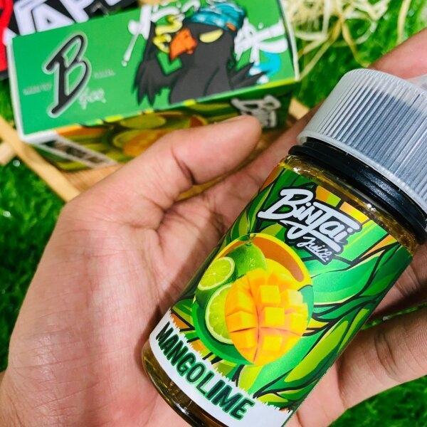 บินใจแมงโก้ไลม์   Binjai Juice MangoLime 60ml