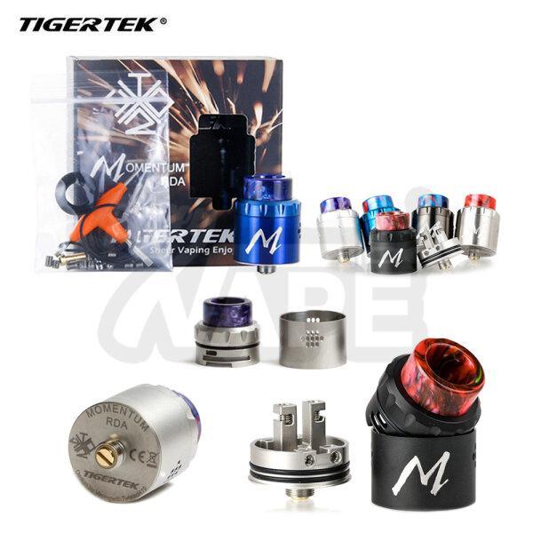 Tigertek Momentum RDA 24MM | อะตอมหยดสูบ ไทเกอร์แท็กโมเมนตัม [ แท้ ]