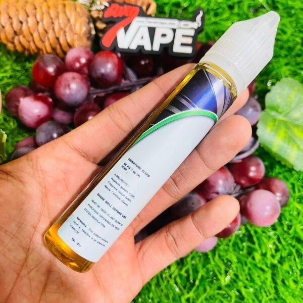 เมเวียสไอซ์ออฟชั่นองุ่นฟรีเบส | Mevius Ice Option Grape freebase 30ml