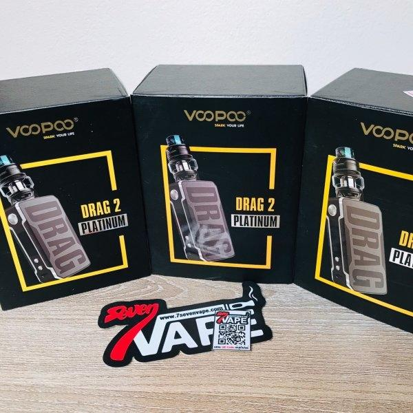 VOOPOO Drag 2 Platinum 177W & Uforce T2 Starter Kit