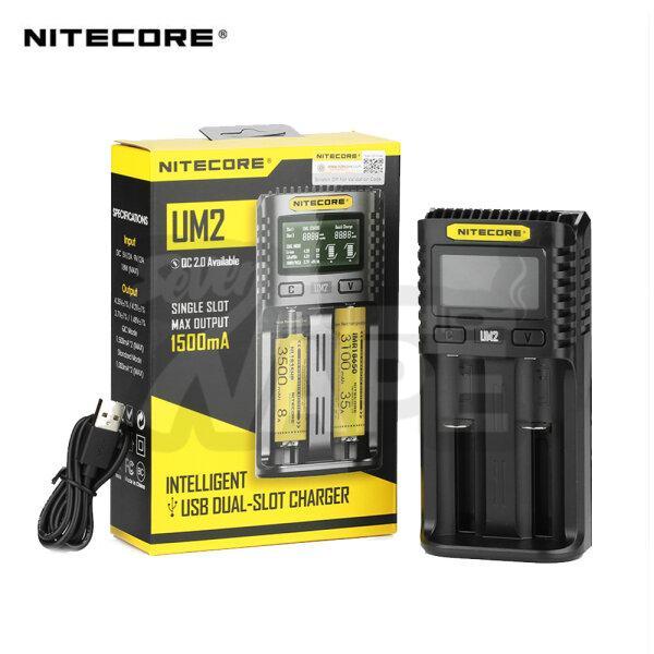 เครื่องชาร์จถ่าน Nitecore UM2 Charger 2 ช่อง ชาร์จแบบ USB [ แท้ ]