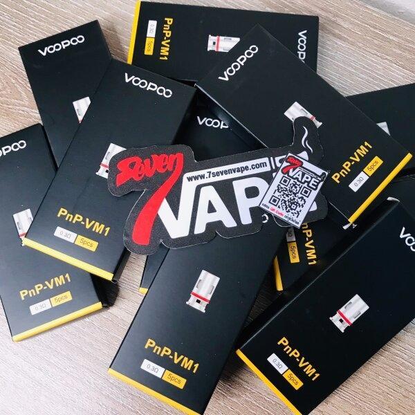 คอยล์ VOOPOO PnP Replacement Coils | Vinci 40W & Vinci X & Vinci Air & Drag X & Drag S & Argus Air & Argus GT & DRAG 2 PnP & Darg Max