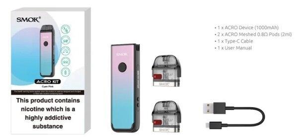 SMOK ACRO Pod System Kit 25w