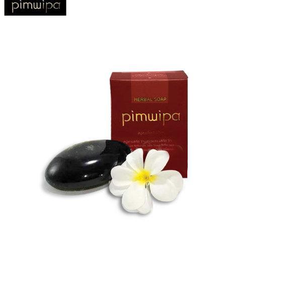 สบู่สมุนไพรแก่นฝาง กลิ่นกุหลาบ (PIMWIPA)