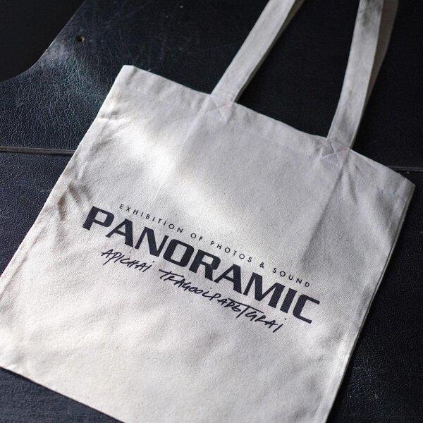 [ จัดส่งทุกเสาร์ ] Panoramic 100% Cotton Tote Bag