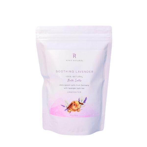 Epsom Salt Soothing Lavender Bath & Foot Soaks ดีเกลือฝรั่ง เกลือแช่ตัว เกลือแช่เท้า
