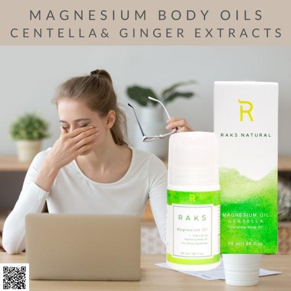 Magnesium Oil Roll On Relax & Reset