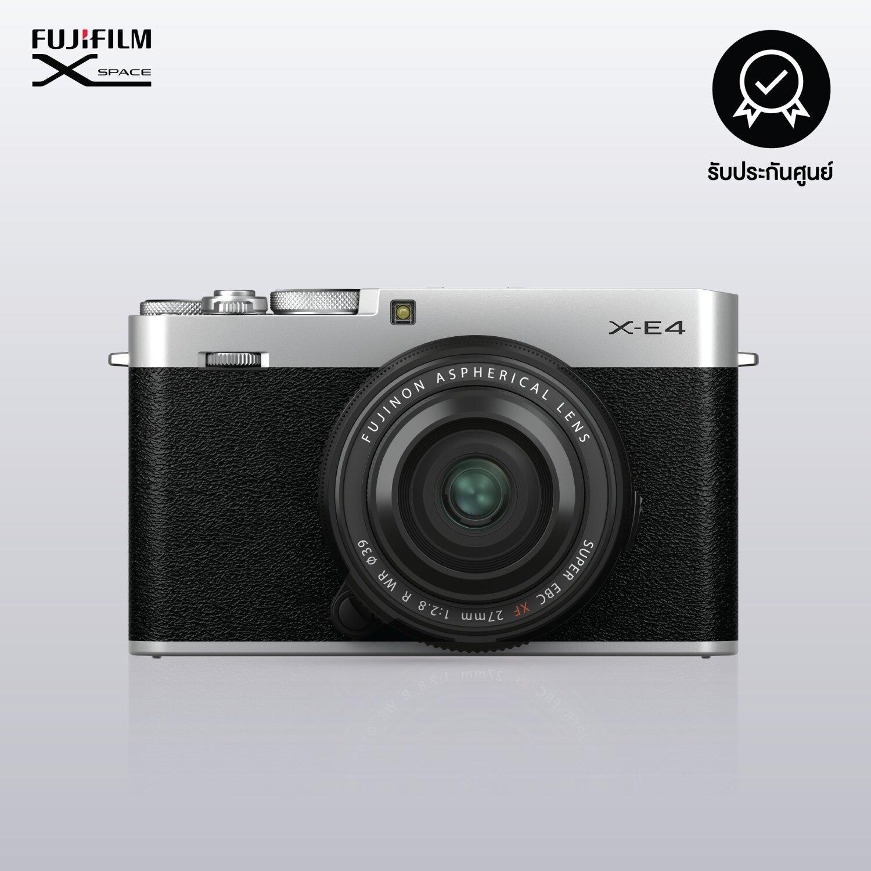 FUJIFILM X-E4 (SILVER) / KIT XF 27mm F2.8 R WR