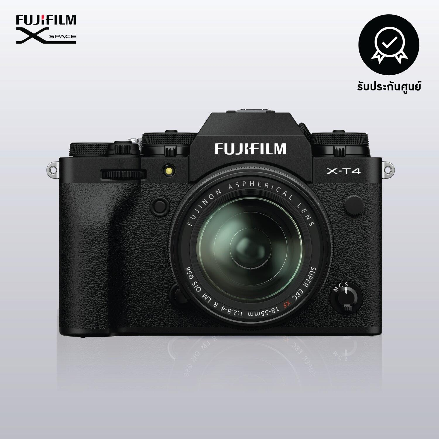 FUJIFILM X-T4/KIT18-55mm (Black)