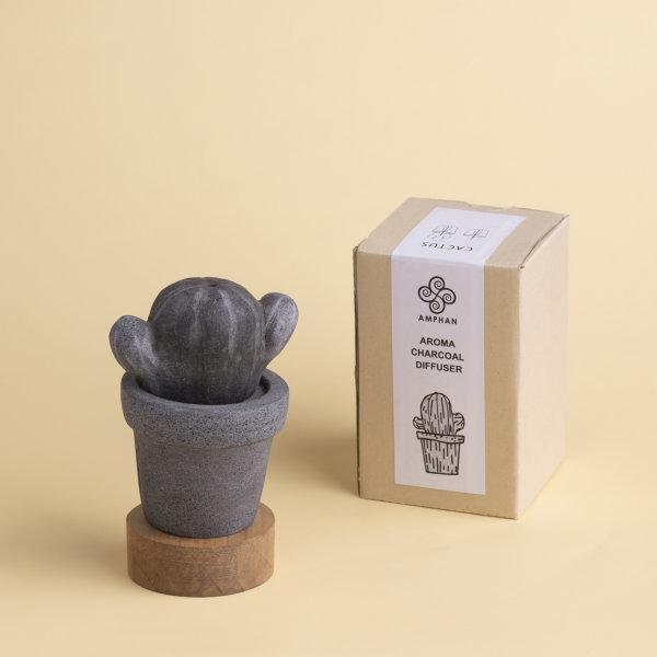 Aroma Charcoal Diffuser : Cactus - A