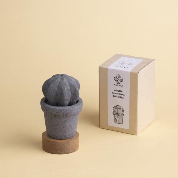 Aroma Charcoal Diffuser : Cactus - C