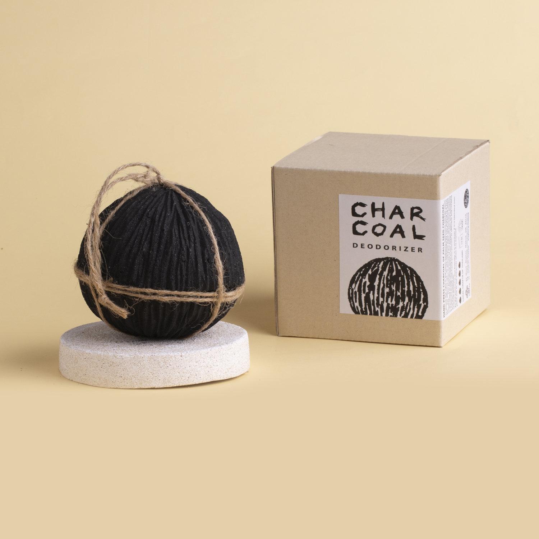 Charcoal Deodorizer : ลูกมะพร้าว
