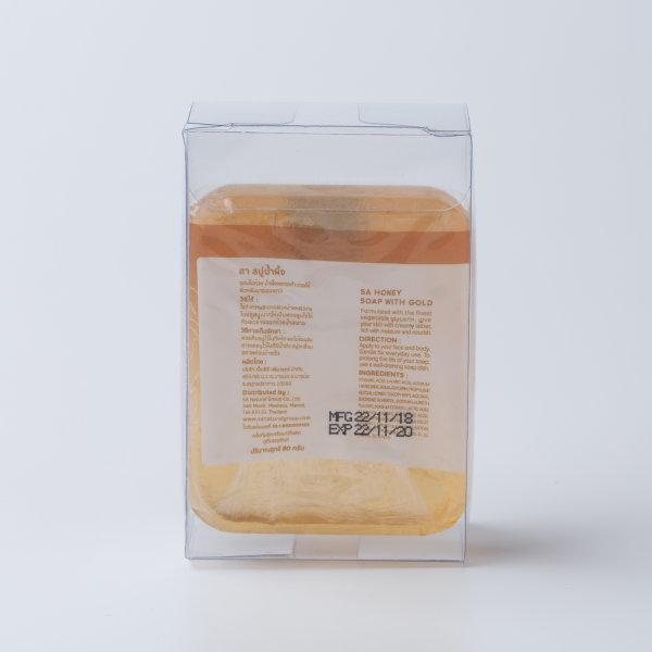 สบู่น้ำผึ้ง (Honey Soap)