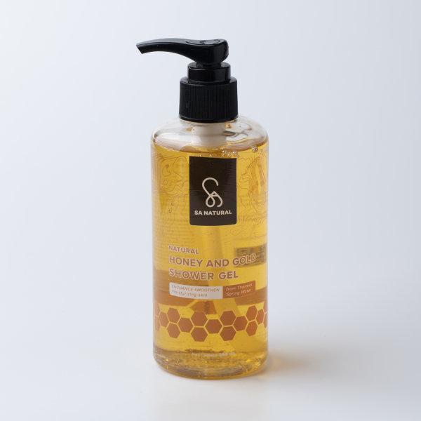 เนเชอรัล ฮันนี่ แอนด์ โกลด์ ชาวเวอร์ เจล (Natural Honey and Gold Shower Gel)
