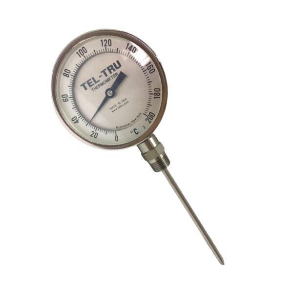 Tel-Tru Bimetal Thermometer รุ่น BC450R 4610-06-78