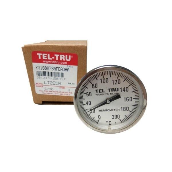 Tel-Tru Bimetal Thermometer รุ่น LT225R 2310-08-78