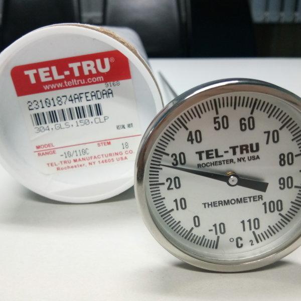 Tel-Tru Bimetal Thermometer รุ่น LT225R 2310-18-74