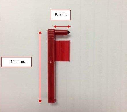 Graphic Controls Fiber Tip Pen Red #10557347 รุ่น 155S175-3