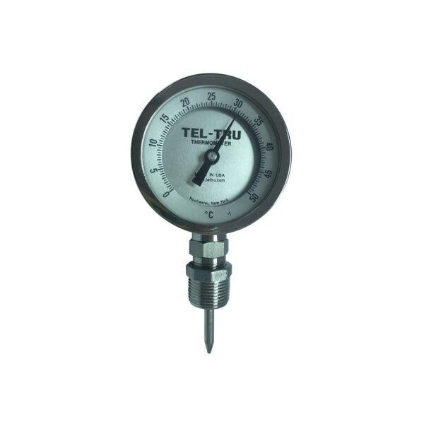 Tel-Tru Bimetal Thermometer รุ่น BC350R 3910-02-75
