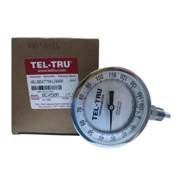 Tel-Tru Bimetal Thermometer รุ่น BC450R 4610-04-77