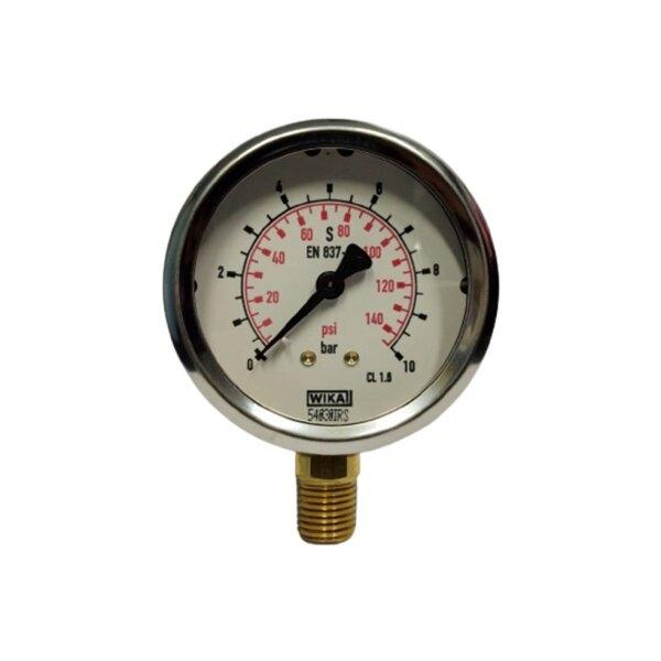 "Wika Pressure Gauge 2.5"" (0-10Bar)"
