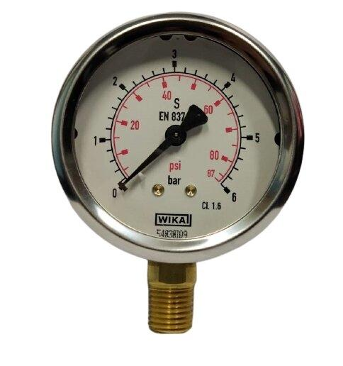 "Wika Pressure Gauge 2.5"" (0-6Bar)"