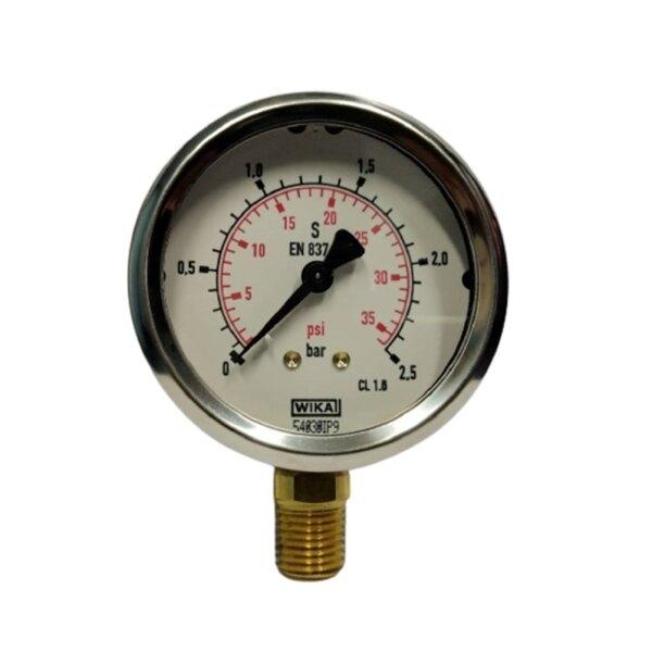 "Wika Pressure Gauge 2.5"" (0-2.5Bar)"
