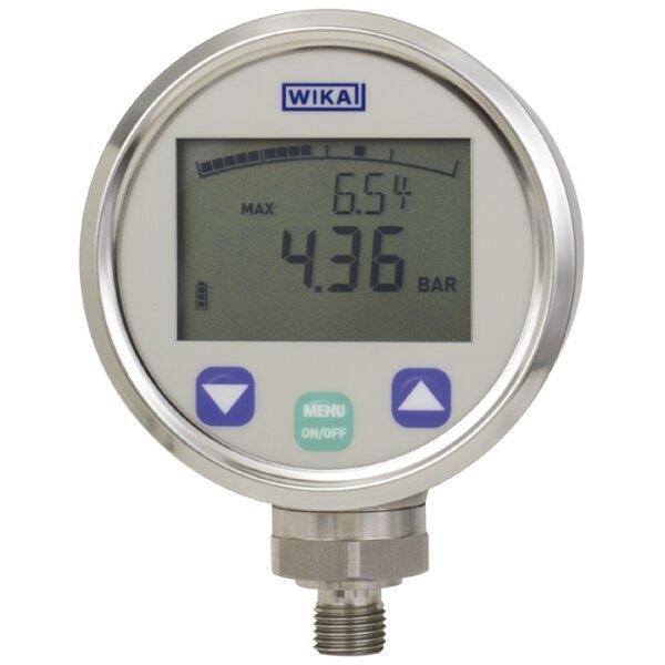 WIKA DG-10-E (0-10 bar gauge ; 1/4 NPT)
