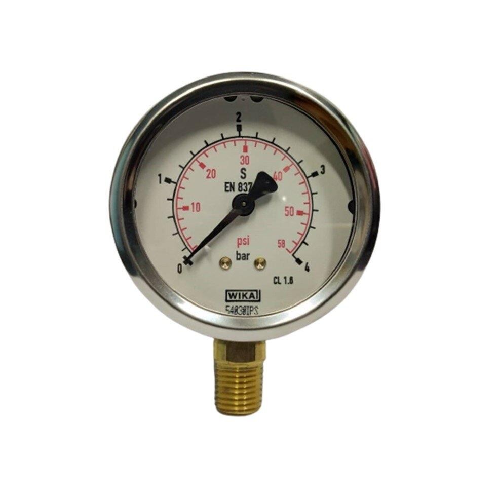 "Wika Pressure Gauge 2.5"" (0-4 Bar)"