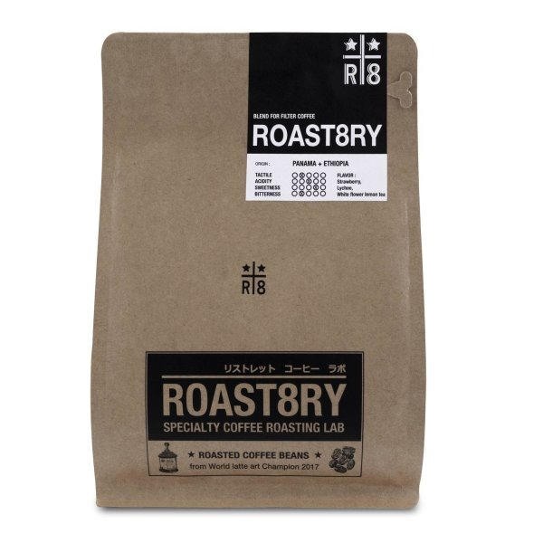 Roast8ry blend : for filter coffee (light/medium roasted)