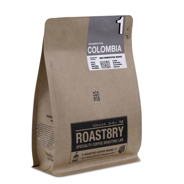 Colombia : San Augustin (medium/dark roasted)