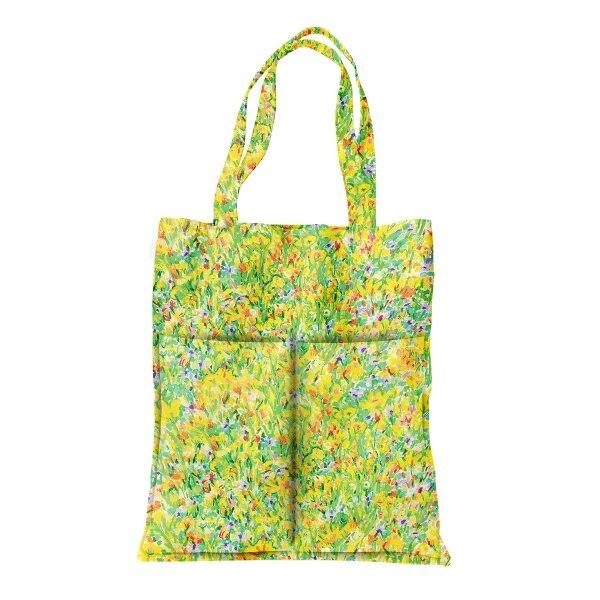 tote bag garden-yellow
