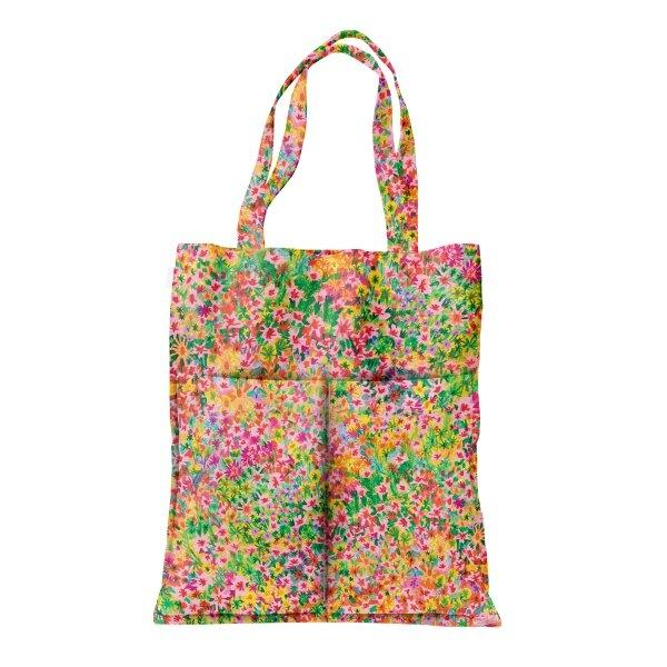 tote bag - summer garden