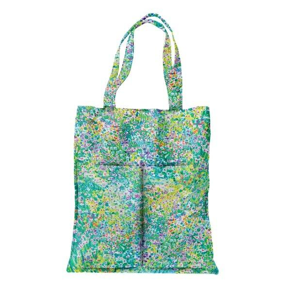 tote bag garden-rainy
