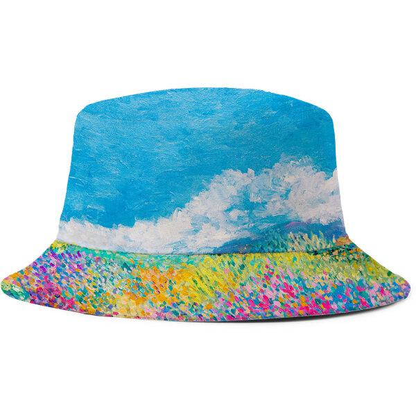 Bucket hat - flowerfield
