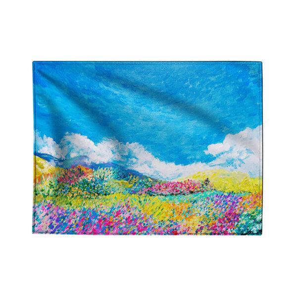 Fabric poster - Flower field