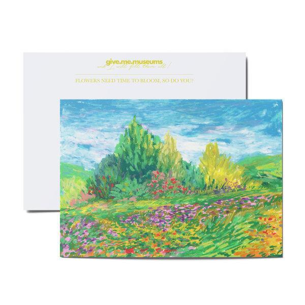 postcard - kindly hill