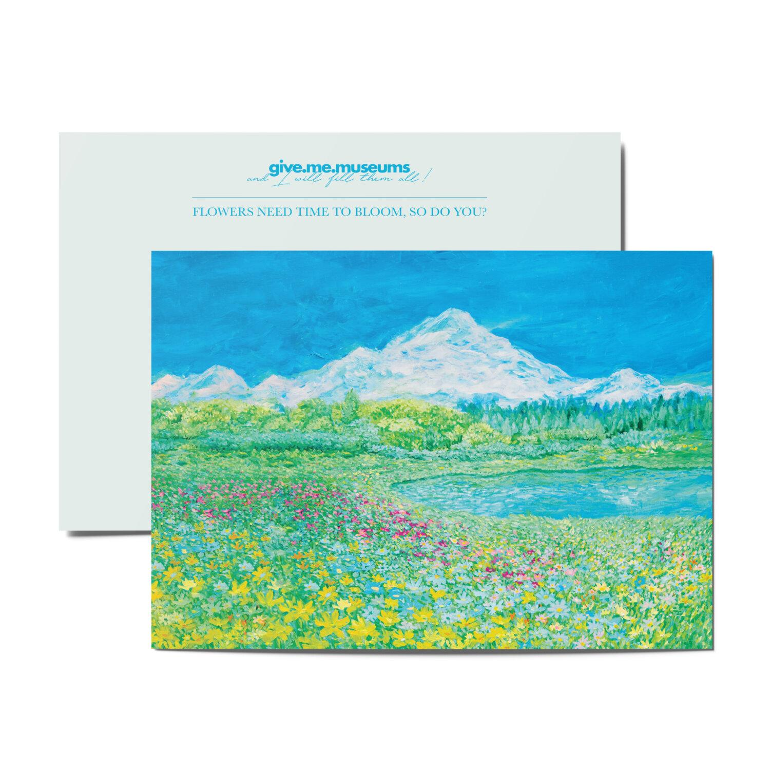 postcard - blooming day