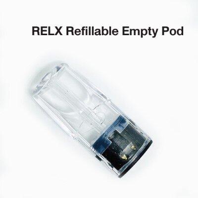 Relx Refillable Pod หัวพอต Relx แบบเติมน้ำยา