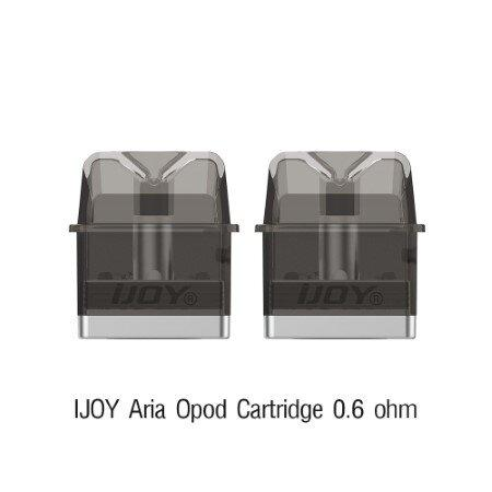 IJOY Aria Opod Cartridge 3ml 0.6 ohm 2 ชิ้นต่อ แพ๊ค