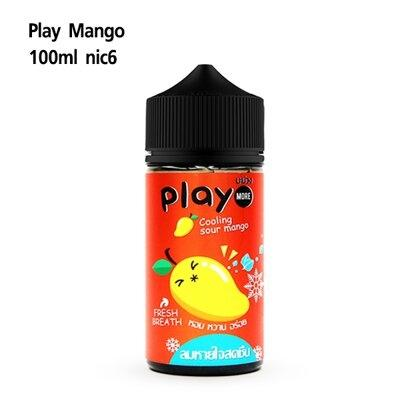 Play 100 ml nic6