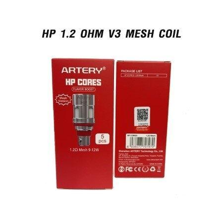 Coil Artery Pal 3 HP 1.2-0.7 ohm V3 Mesh 5ชิ้น/แพ๊ค